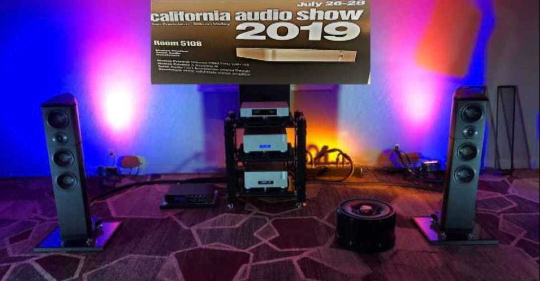Aurender Demostration California Audio Show 2019