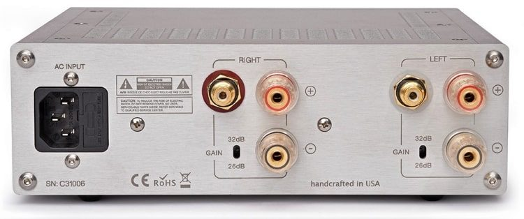 Channel Islands Audio C100S Power Amp back