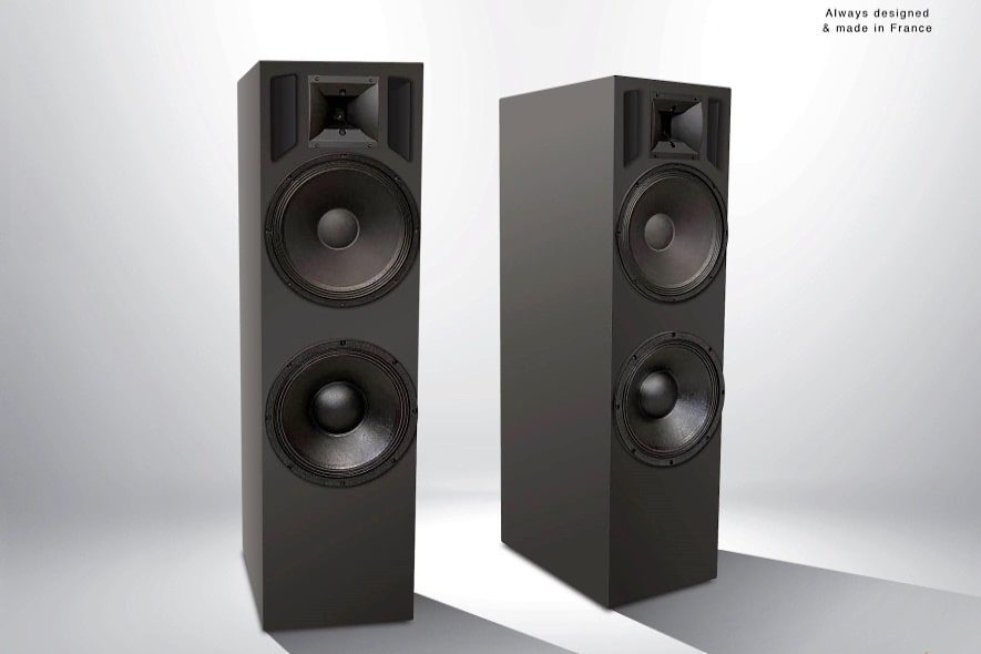 Totaldac d100 loudspeakers