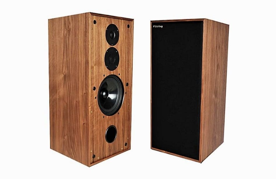 Stirling Broadcast BBC LS3/6 Loudspeakers